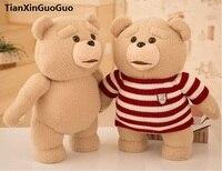 New arrvial đáng yêu ted chịu lớn 55 cm plush toy mềm doll ném gối quà Giáng Sinh h2047