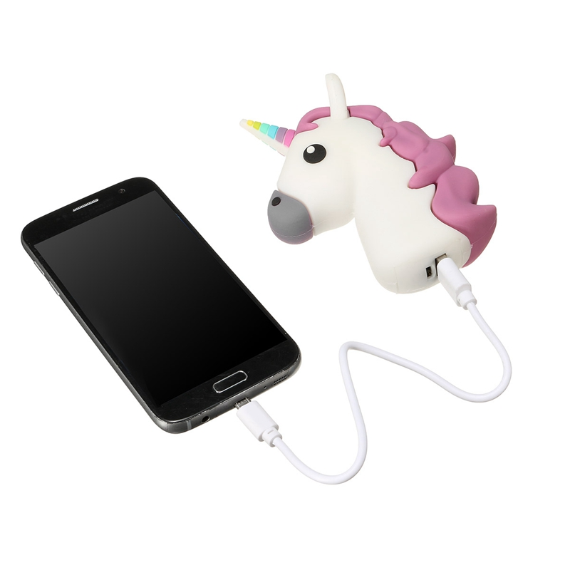 HTB1beHSOFXXXXXPaFXXq6xXFXXXW - Universal Unicorn Shaped Backup Battery 2600mAh Charger Power Bank Charging For iPhone For Samsung Smart Phones Power Supply