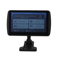 Car Truck 7 Inch 4G Portable High Definition HD GPS Navigator MP3 With Map
