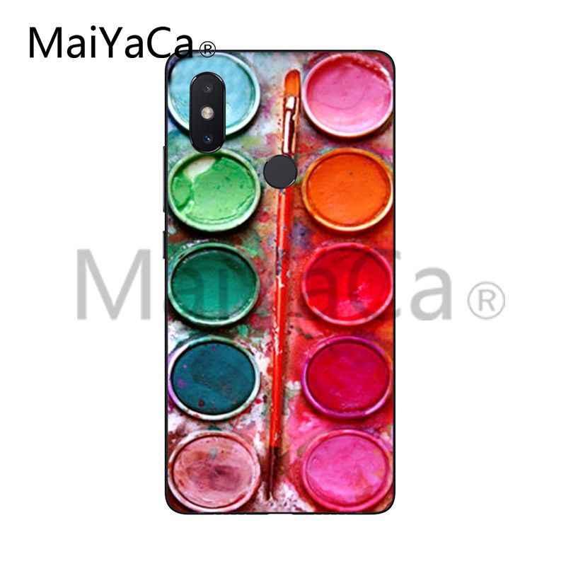 MaiYaCa Çığlık tarafından Munch Van Gogh Yıldızlı Gece Güneş Çiçek xiaomi için telefon kılıfı mi 6 mi x2 2 S Note3 8 8SE kırmızı mi 5 5 artı Note4 4X5