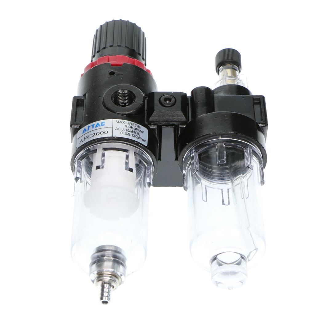 AFC2000 Air Pressure Regulator Oil Water Separator Trap Filter Compressor air compressor afc2000 oil water separator regulator trap filter airbrush
