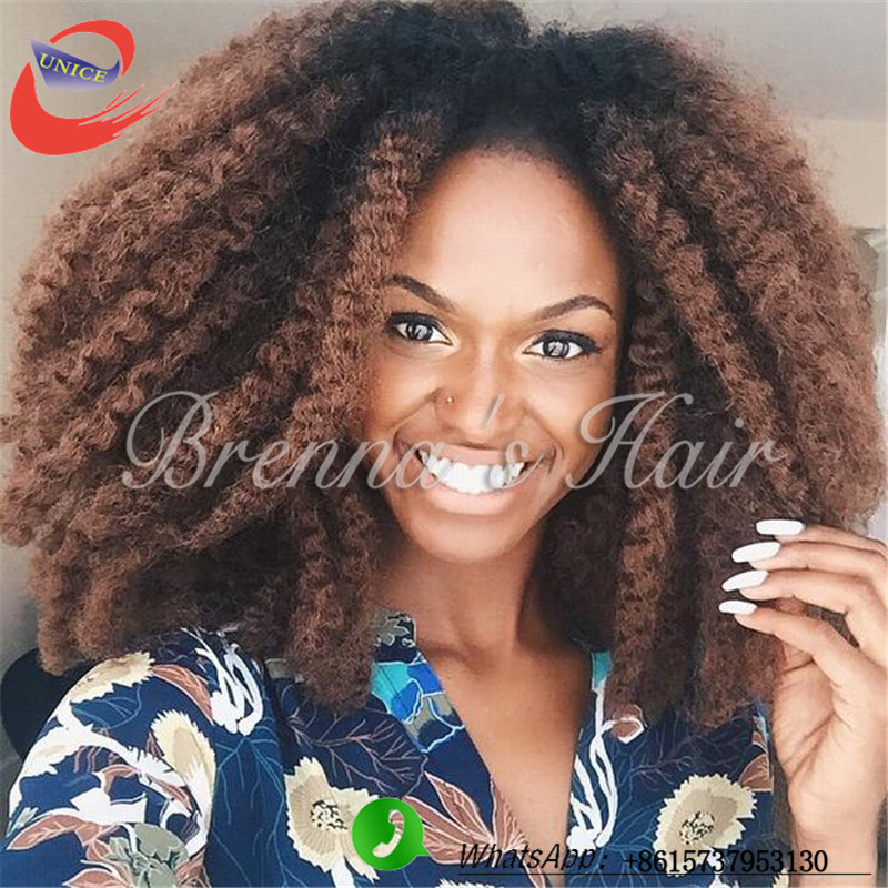 Havana Mambo Twist Afro Braid Kinky Curly Ombre Color Hair De Cabelo