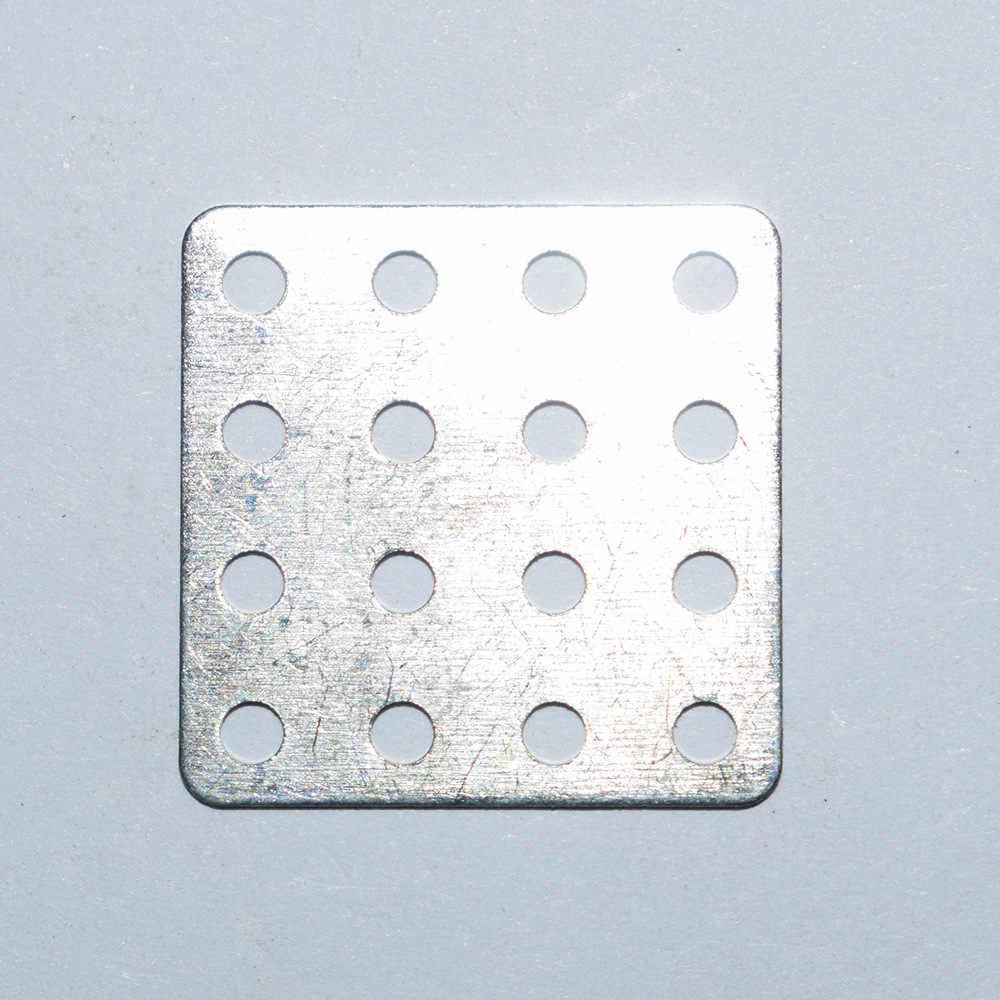 10/100/1000 piezas 20x20mm hierro cuadrado rc robot marco soporte motor juguete pieza/ piezas de modelos de tecnología yuanmbm tamiya juguetes de bebé 20202B