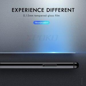 Image 4 - 3Pcs Vetro Temperato Per Samsung Galaxy A20 A30 A40 A70 A50 A20E Protezione Dello Schermo 9H 2.5D di Vetro su samsung J4 J6 Più A7 A9 2018