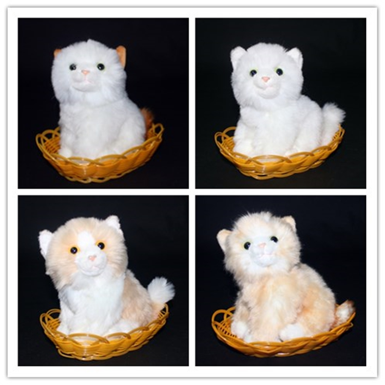 Cute Baby Toys Small Cat Doll  Plush Toy  Birthday Gifts