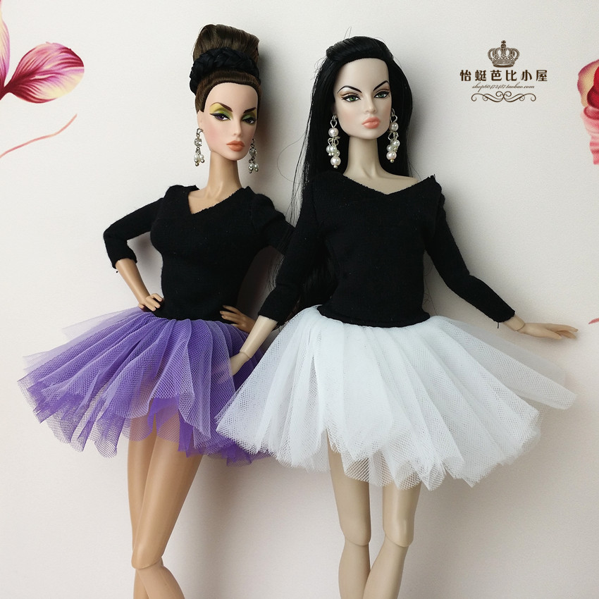 Promotion Pullip dolls wedding clothes And Ballet Dress for Barbie Doll Clothes Fairy Tale Accessories,lot of dresses set