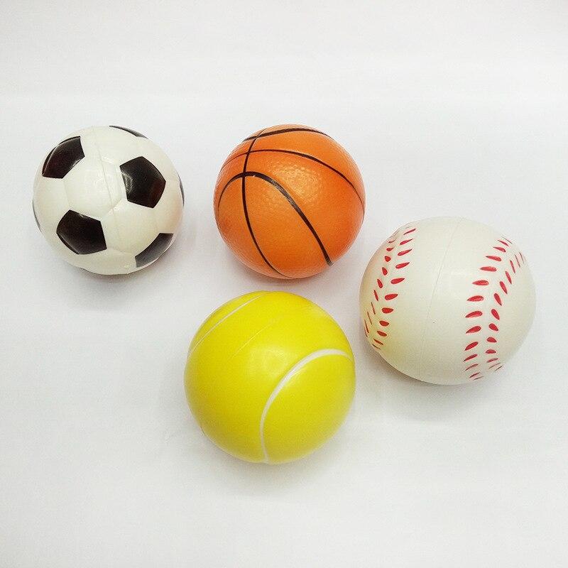242b768947 2 PCS Aperto de Espuma Macia Bola Apertando Mão Wrist Exercício Bolas de  Tênis De Futebol