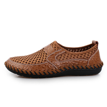 2019 Summer Breathable Mesh Mens Casual  Shoes Slip On Brand Fashion Shoes Man Soft Comfortable Zapatillas Hombre