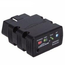 Nuevo konnwei kw902 kw902 mini elm327 bluetooth obd-ii de coches auto herramientas de escaneo automotriz de diagnóstico del coche herramienta de escaneo inalámbrico conexión