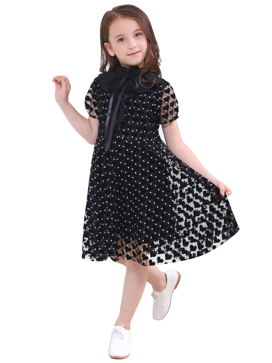 childrens summer dress 19 new children princess dress in the Korean version of the spring and autumn short sleevechildrens summer dress 19 new children princess dress in the Korean version of the spring and autumn short sleeve