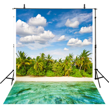 Foto Cenário Tropical Fotografia Fundos Cenários de Vinil Para A Praia Da Arte Da Fotografia Fundo Para Photo Studio Fotografia
