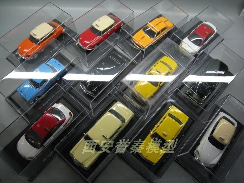 LEO 1/43 Escala Brinquedos Modelo de Carro da TOYOTA, FORD, FIAT, PEUGEOT, citroen Táxi Diecast Metal Car Toy Modelo Para A Coleção, Presente, Crianças
