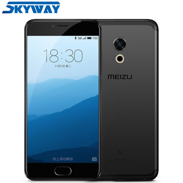 Meizu Pro 6s Pro6 s 4GB RAM Helio X25 Deca core 64GB ROM 5.2 inch 1920*1080 AMOLED Screen 3D Press mobile phone