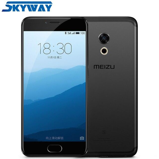 Оригинал, Meizu Pro 6s, Pro6s, смартфон, 4 Гб RAM, 64 Гб ROM, Helio X25 десять ядер, 5.2 дюйма, 1920*1080 AMOLED экран, 3D нажатие, быстрая зарядка