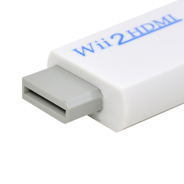 Wii2HDMI Adapter Original Package Full HD 720P 1080P HDTV Monitor Display For Wii to HDMI Converter 3.5mm Audio Video Output