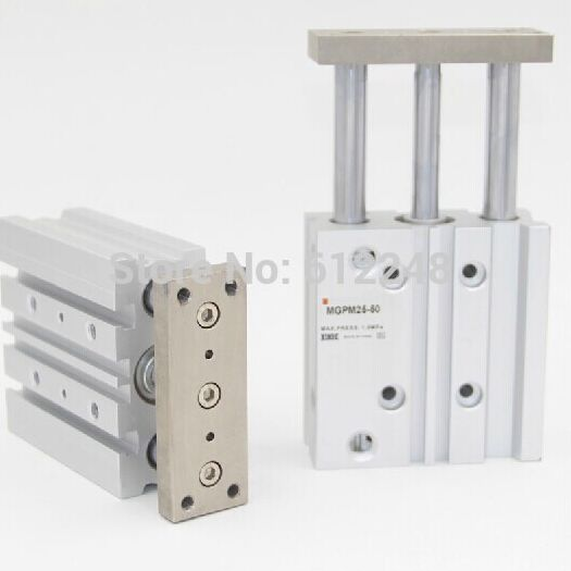 MGPM40-10/20/25/30/50/75/100 Compact pneumatic air cylinder with guide rod cylinder MGPM40-10 MGPM40-20 MGPM40-25 MGPM40-30MGPM40-10/20/25/30/50/75/100 Compact pneumatic air cylinder with guide rod cylinder MGPM40-10 MGPM40-20 MGPM40-25 MGPM40-30