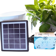 Hot Solar energy Automatic watering device Intelligent timer Garden drip irrigation Supplies Home plant water pump Watering Kits