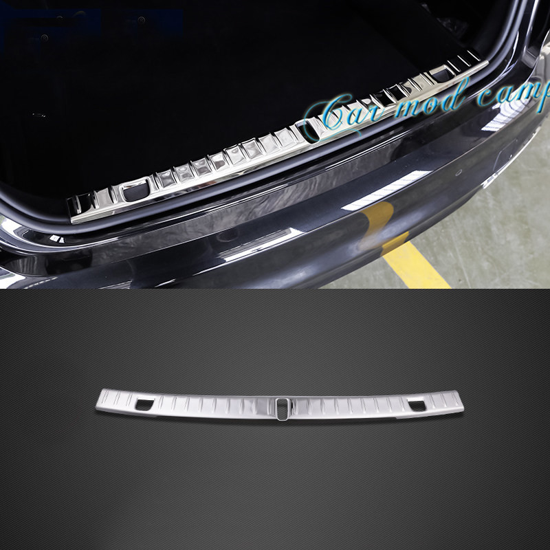 For BMW 7 Series G11 / G12 2016 2017 Stainless Steel Inner Rear Bumper Protector Guard Plate Trim 1pcs Car Styling Accessories! aosrrun after the stainless steel backboard of the guard board the rear guard plate car accessories for acura cdx 2016 2017