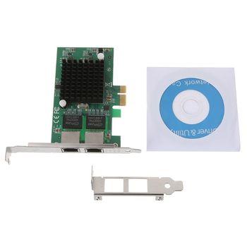 אחת rj45 יציאת 2 5g 1000 M/100 M/10 M gigabit ethernet PCI Express wired  רשת lan nic