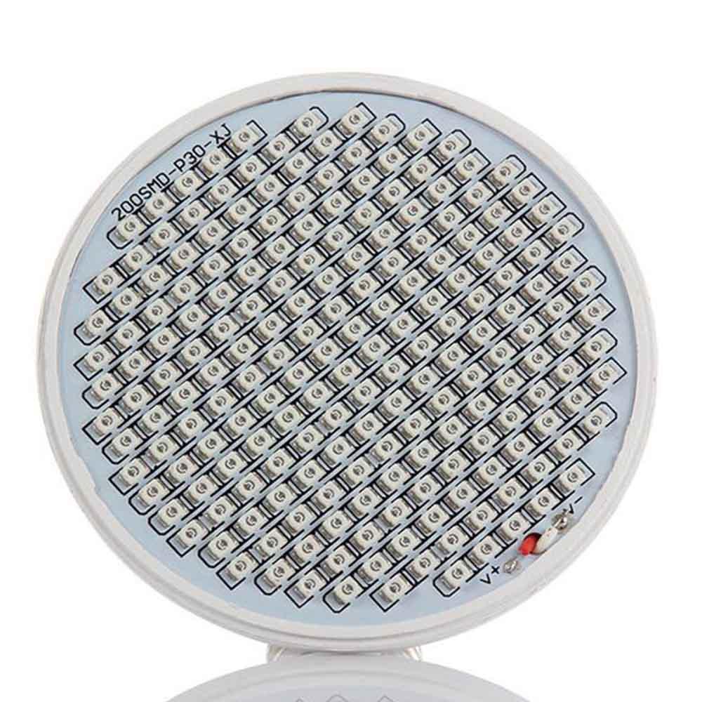 1 հատ 200 LED E27 բույսերի աճեցման լույսի - Մասնագիտական լուսավորություն - Լուսանկար 3