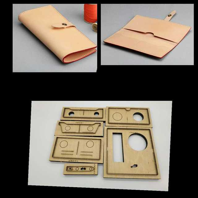 c88ee76c3 Japan Steel Blade Rule Die Cut Steel Punch Simple Wallet Cutting Mold Wood  Dies for Leather Cutter for Leather Crafts 185*90mm