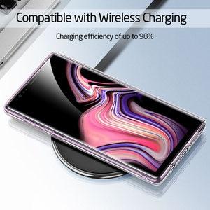 Image 4 - ESR süper sert temperli cam durumda Samsung Galaxy not 9 için kılıf kapak telefon tampon Samsung not 9 cep telefon aksesuarı
