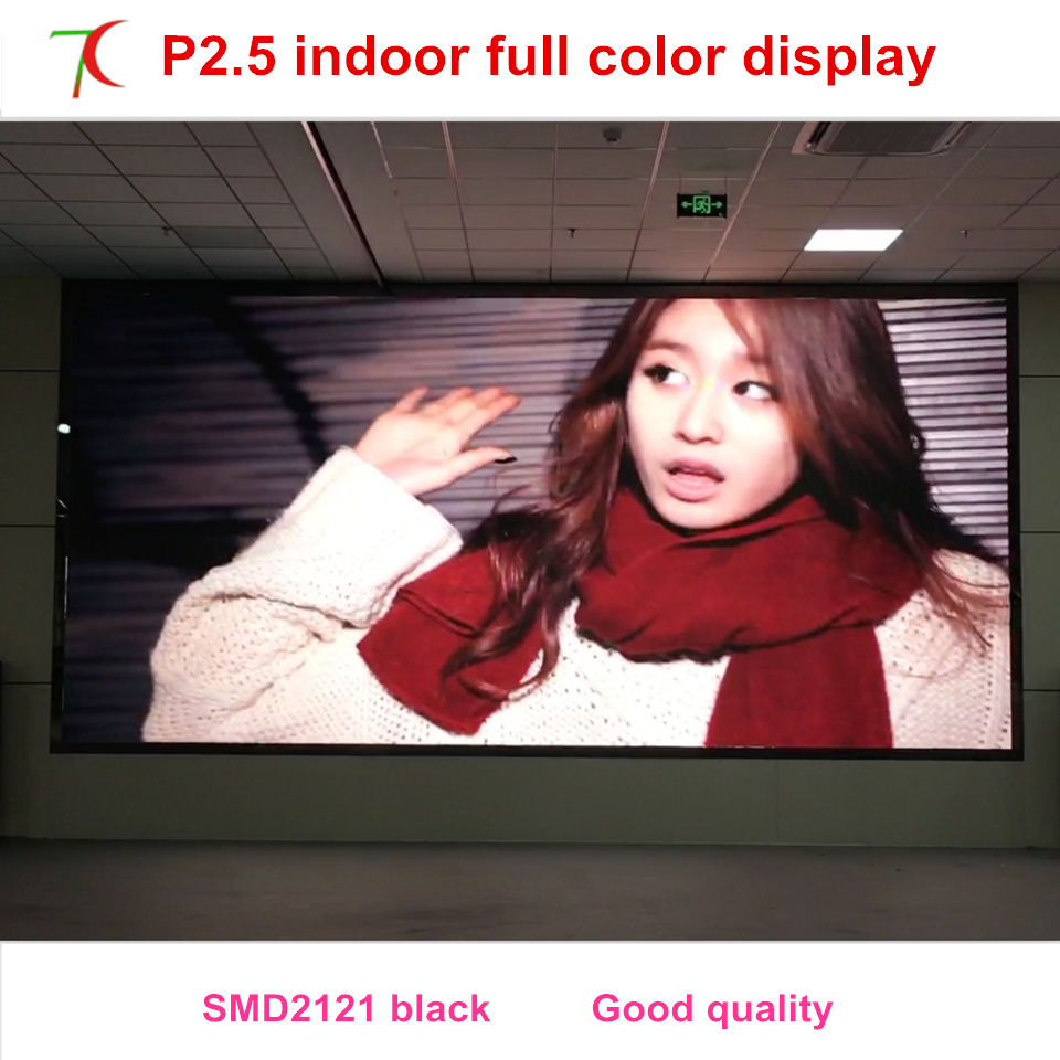 Yao Caixing Cost-effective Indoor P2.5 Full Color Led Screen Widely Use For Led Video Wall ,160.000dots