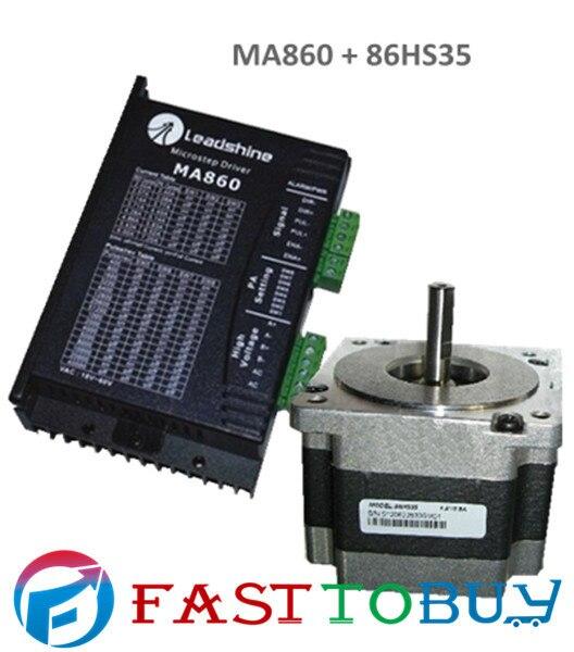 2-phase Stepper Motor  drive MA860 + 86HS35 3.5N.m New rc2604h stepper motor drive 578 586