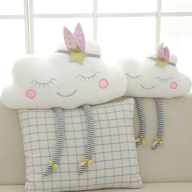 Smiling Cloud Cushion Nordic Style - Nursery Decor
