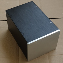 BZ1715  Full aluminum chassis  Preamplifier box Power amplifier case size 170*150*258MM