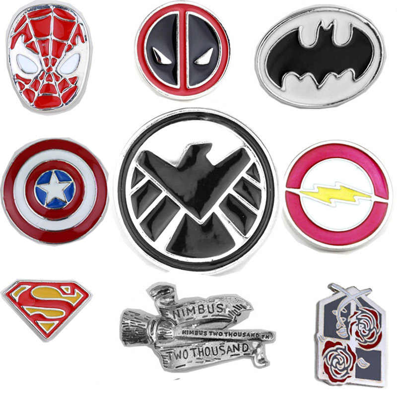 Film Marvel Lencana Bros Avenger Aliansi Kapten Amerika Serangan Raksasa Flash Spiderman Captain America Lencana Bros Pin