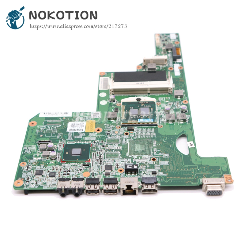 Image 3 - NOKOTION 615849 001 605903 001 Laptop Motherboard For HP G62 G72 CQ62 HM55 UMA DDR3 MAIN BOARD Free CPU-in Laptop Motherboard from Computer & Office on