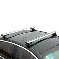 2pcs 120cm Aluminium Alloy Car Roof Rack Cross Bar Holder for Auto SUV Load Cargo Luggage Carrier 70kg