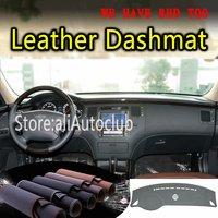 For Hyundai Grandeur Azera 2006 2007 2008 2011 Leather Dashmat Dashboard Cover Dash SunShade Carpet Custom Car Styling LHD+RHD|  -