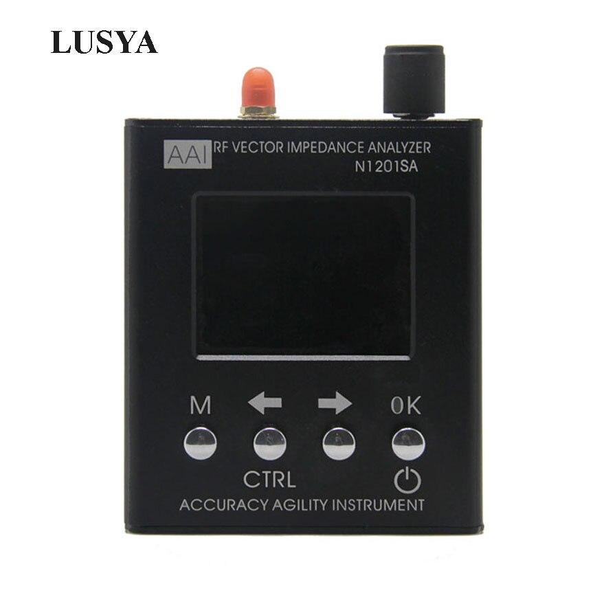 Lusya Anglais verison N1201SA 140 mhz-2.7 ghz UV Vectoriels RF Impédance ANT SWR Antenne Analyzer Compteur Testeur 140 mhz-2.7 ghz D1-005