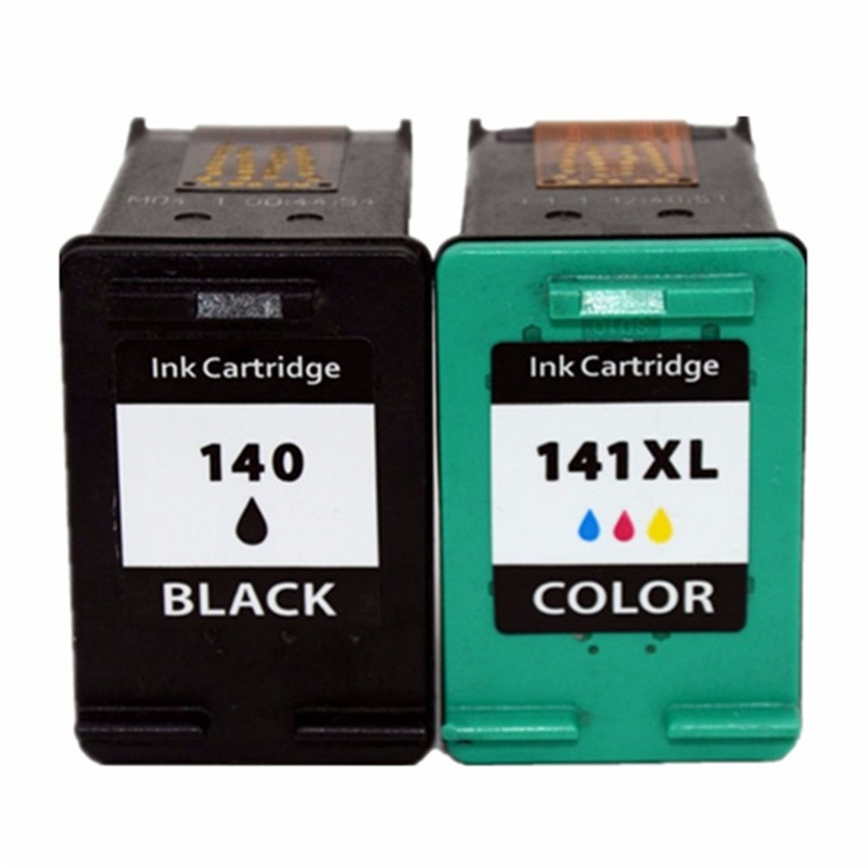 Ink Cartridges Compatible for <font><b>HP</b></font> <font><b>140</b></font> <font><b>141</b></font> 140xl 141xl Deskjet D4245 D4260 D4263 D4268 D4360 D4363 D4368 Printer Cartridge image