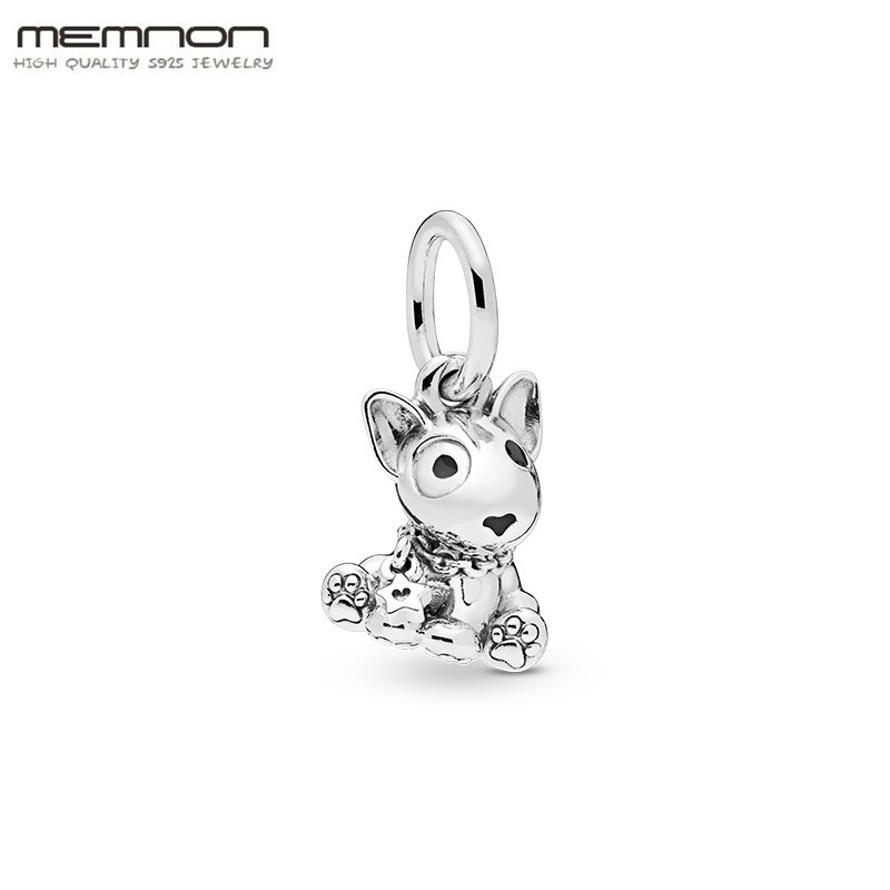 2019 Mothers Day 925 sterling silver Bull Terrier Puppy charms fit charm bead Bracelet necklace pendant diy Accessories jewelry2019 Mothers Day 925 sterling silver Bull Terrier Puppy charms fit charm bead Bracelet necklace pendant diy Accessories jewelry