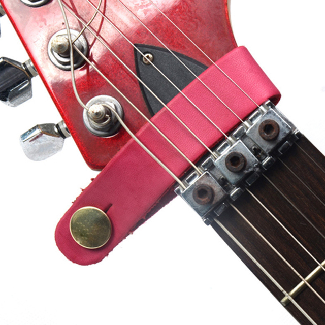 Hot Sale Leather Guitar Strap Holder Button Safe Lock for Acoustic Electric Classic Guitarra Bass Instrument Guitar Accessories