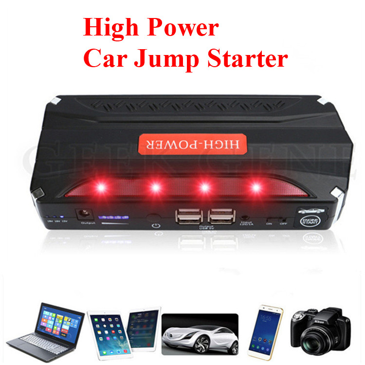 Mini Car Jump Starter Portable Car Charger For Car Battery Booster Emergency Power bank charger Auto Lighter Starting Device защитная пленка для ноутбука moshi ivisor air 11 13