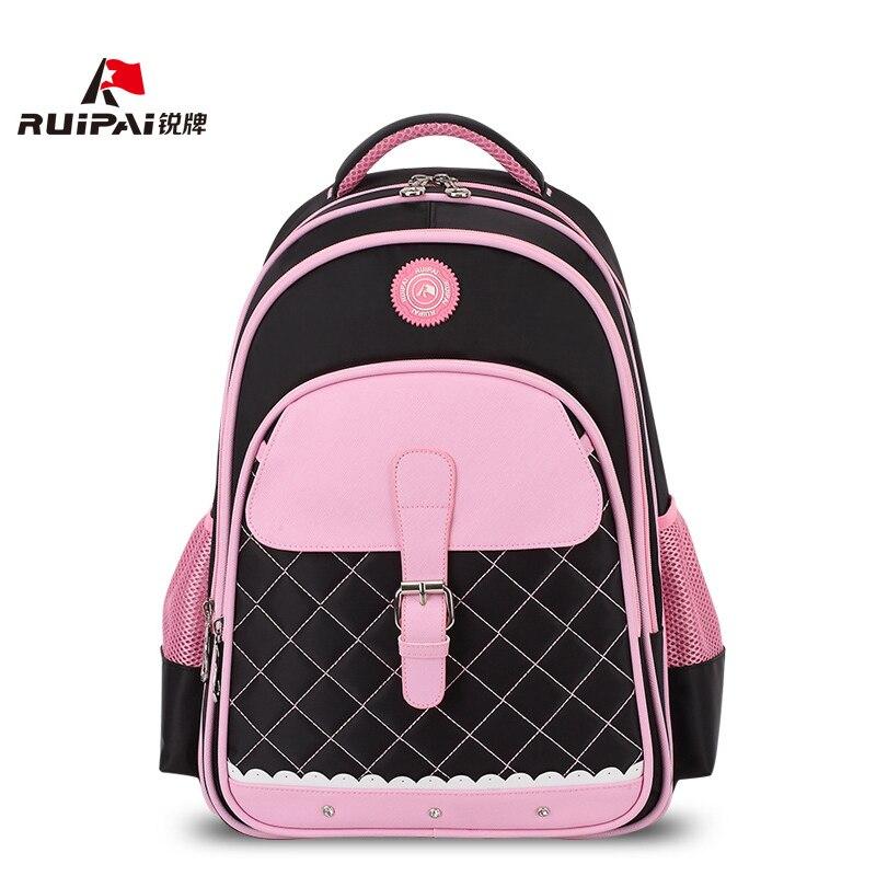 RUIPAI школьная сумка для модная одежда для девочек элегантный школьный рюкзак ранцы школьные рюкзаки розовый сумки удобные mochila escolar CL