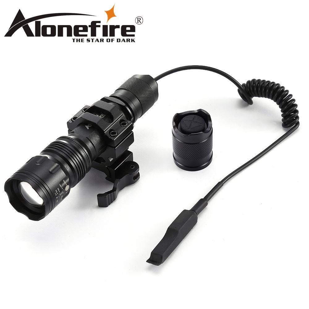 AloneFire TK104 xml L2 flashlight Tactics torch Zoom Aluminum Remote Switch Led Tactical Flashlight For Hunting цена 2017