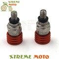 M4 0.7mm orange cnc garfo sangrador de ar válvula de alívio de pressão para ktm sx EXC SMR SMCR SXF 125 250 350 400 450 500 525 530 Sujeira bicicleta