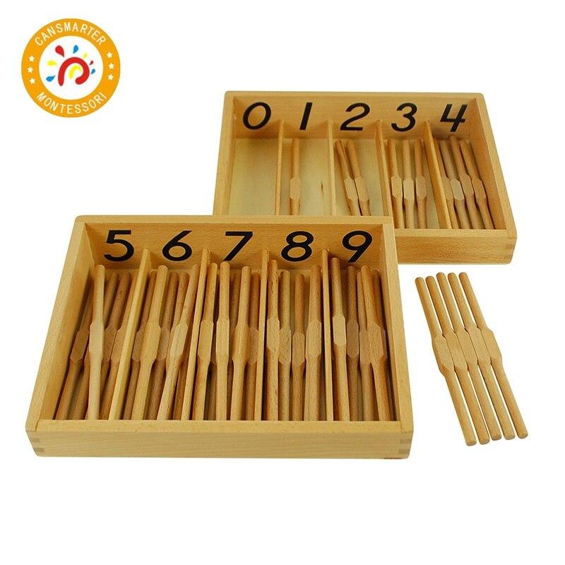 Bébé jouet Montessori matériel mathématiques aides pédagogiques langue combinaison sensorielle éducation précoce Configuration de la salle de classe - 6