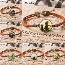 HZSHINLING Hot Sale Fashion Little Princes Leather Bracelet