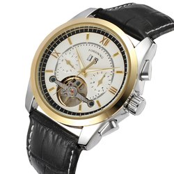 2019 nowy FORSINING luksusowe Top marka zegar mężczyźni mechaniczne zegarki na rękę automatyczny auto ręki zegarek męski prezenty relógio Masculino