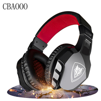 Computer Stereo Gaming Headphones Double 3 5mm Best Casque Deep Bass Game Earphone Headset With Mic