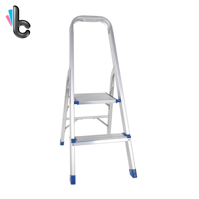 Step Stool Ladder Folding 2 Step Ladder with Standing Platform, Multi-Use for Household, Market, Office marine boat folding ladder pontoon transom boarding ladder 3 step narrow type stainless