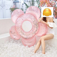 Inflatable Donut Swimming Ring Giant Pool Float Toy Circle Beach Sea Party Inflatable Mattress Water Adult Swimming Pool