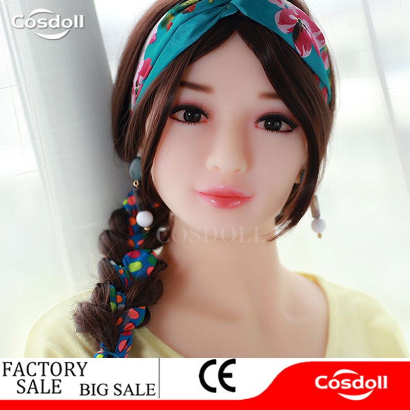 Cosdoll 4.9ft/5.2ft/5.5ft Real Tpe Silicone Sex Dolls Robot Japanese Celebrity Big Breasts Sex Products for Men Love Doll