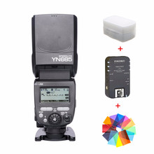 YONGNUO i-TTL Speedlite YN685 622N/603 Dual Wireless System Flash for Nikon D3000 D3100 D5300 D5500 DSLR Camera With Trigger new meike mk mt24 wireless dual flash speedlite trigger macro photography for nikon camera dual flash speedlite trigger